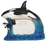 Mother Whale And Calf Photo Frame